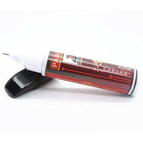 Ainstsk auto pittura penna di riparazione, 12ML impermeabile professionale per la riparazione auto pittura penne, non tossico permanente Car scratch Repair Remover Pen, Pearl Black, Taglia libera