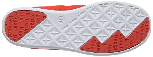 Desigual Shoes_camden 5, Sneakers basses femme Rouge - Red (7054)
