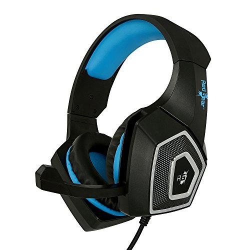 Redgear Dagger Professional Gaming Headphones with RGB LED Impact, Volume Controller and Retractable Microphone Image 2