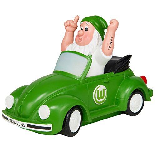 """Gartenzwerg """"VW-Käfer"""" VFL Wolfsburg"""