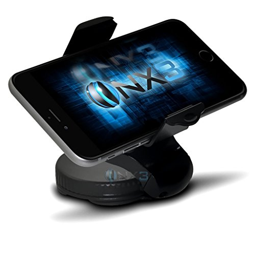 (360 Compact) Microsoft Lumia 532 Windschutzscheibe Handy Smart-Auto-Armaturenbrett Halterung Halter ONX3®