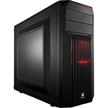 Corsair CC-9011051-WW Case Essential Gaming, Mid Tower Atx Carbide Spec-02,