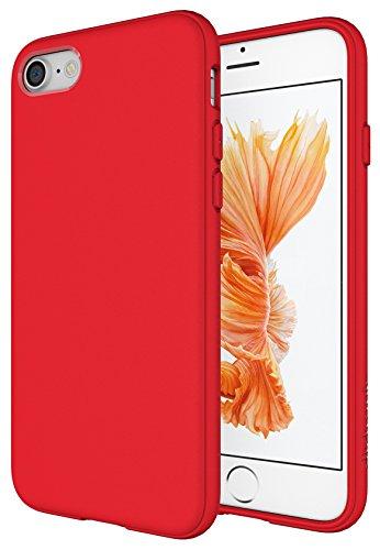 Diztronic IP7-FM-RED Custodia in TPU per Apple iPhone 7, Rosso