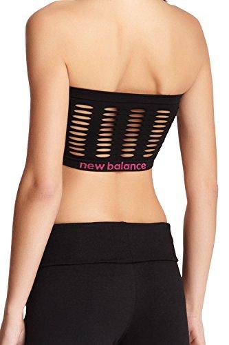 New Balance Moisture Control Bandeau Bra - Diva Pink - Large Diva Pink
