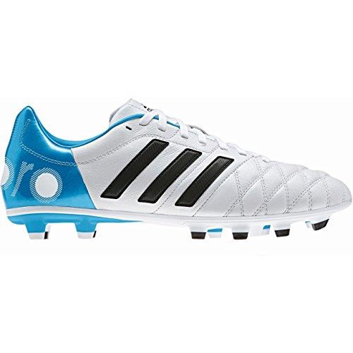 adidas Performance, Scarpe da calcio uomo bianco / blu 12,5 UK - 48 EU - bianco / blu