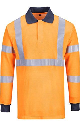 portwest-fr76orrxl-resistente-al-fuego-go-rt-polo-para-hombre-regular-tamano-xl-color-naranja