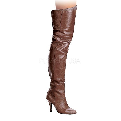 Pleaser LEGEND-8868, Damen Over-Knee Stiefel 37