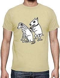c49ae13477b9 tostadora Tee Shirt Tatouage Dalmatien - Tee Shirt Homme, qualité Supérieure