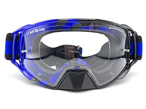 Preisvergleich Produktbild MT Crossbrille Enduro MX-EVO Performance,  Blau / Schwarz
