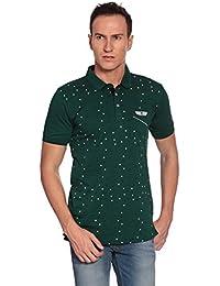 27Ashwood Tshirts For Men Branded,mens Tshirt Half Sleeve,branded T Shirts For Men,men's Dark Green Collar Polo...