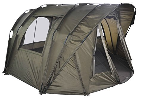 "MK-Angelsport ""Fort Knox Air 3,5 Man Dome"" Zelt Karpfenzelt Angelzelt incl. Gummihammer"
