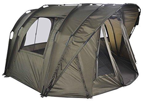 """MK-Angelsport \""""Fort Knox Air 3,5 Man Dome\"""" Zelt Karpfenzelt Angelzelt incl. Gummihammer"""
