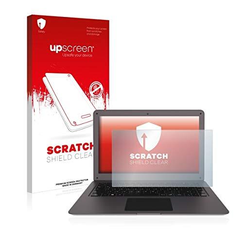 upscreen Scratch Shield Clear Bildschirmschutz Schutzfolie für Trekstor Surfbook W2 (hochtransparent, Hoher Kratzschutz)