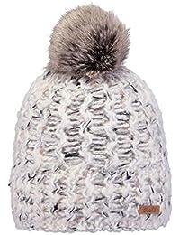 798b08b46f16 Amazon.fr   Bonnet Blanc Pompon - Casquettes, bonnets et chapeaux ...