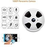 360-Grad-Panorama-IP-Kamera mit APP-Control 1080P-Pixel Überwachungskamera HD Wireless WiFi IP-Kamera 1080P Home Video Security CCTV-Cam