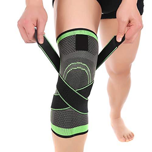 HECHEN 2 Stück/Sport Knee Pads 3D Gewebte Kugel Outdoor REIT Sport Knie Unterstützung-Fitness Kniepolster Sportartikel,M