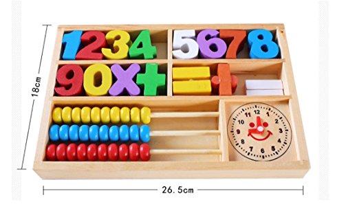 LDD-educación de la primera infancia niños bloques de construcción de múltiples funciones digitales caja de computación bebé guardería herramientas de enseñanza de aprendizaje cuadro Yi juguetes intel
