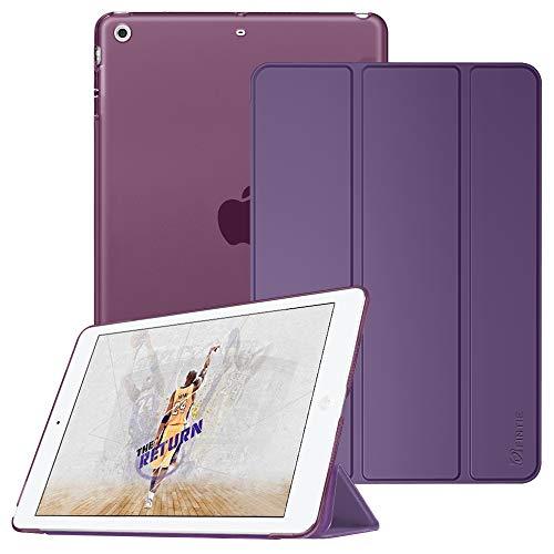 Fintie iPad Mini Hülle - Ultradünne Superleicht Schutzhülle mit transparenter Rückseite Abdeckung Cover mit Auto Schlaf/Wach Funktion für Apple iPad Mini/iPad Mini 2 / iPad Mini 3, Lila
