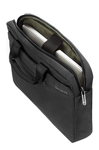 "Samsonite Cartella Network 2 Laptop Bag 17.3"" 17 liters Grigio (Iron Grey) 51885-1449 Charcoal"
