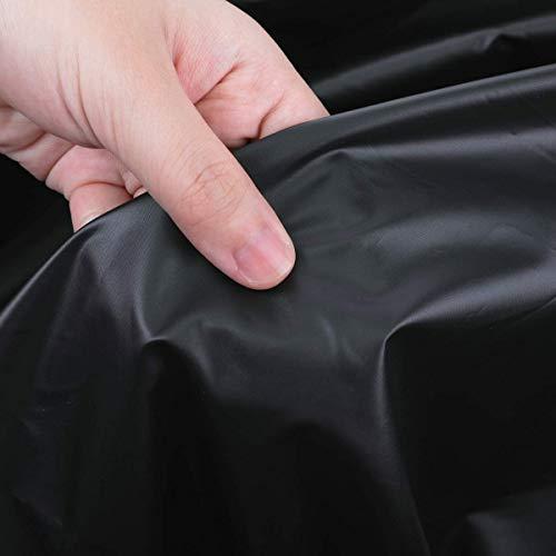 MATCC Halbgarage Autoabdeckung Phosphoreszierend Autogarage Abdeckplane Autoplane Auto Halbgarage Frontscheibe Abdeckung Scheibenabdeckung Eisschutz Schneeschutz Hitzeschutz UV-Schutz