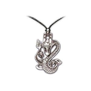 Zoelibat 97208941.112-Gothic Punk Colgante, dragón Chino, 3.5x 2cm