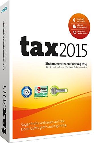 Buhl Data tax 2015 (für Steuerjahr 2014)