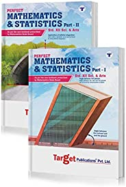 Std 12 Maths 1 and 2 Books | Science and Arts | Perfect Notes | HSC Maharashtra State Board | Based on Std 12t