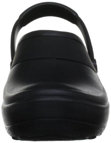 Crocs Mercy Work, Sabots - Femme Noir (Black/Black)
