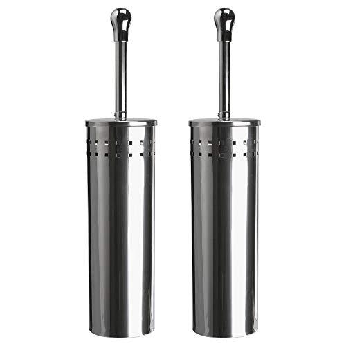 Ikea baren - scopino per wc in acciaio inox, 2 pezzi