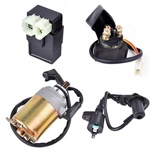 Wingsmoto Kit électrique KD150EKIT pour tête de marteau Twister 150 cm2 Go Kart Cart CDI Bobine Starter M150-1064000