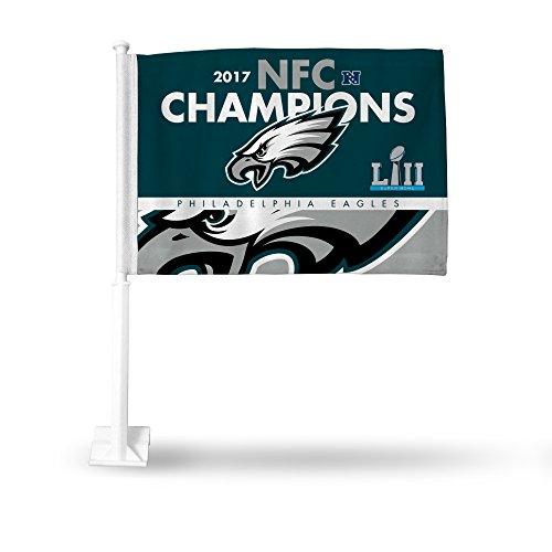 Rico NFL Philadelphia Eagles 2017 NFC Champions Autoflagge