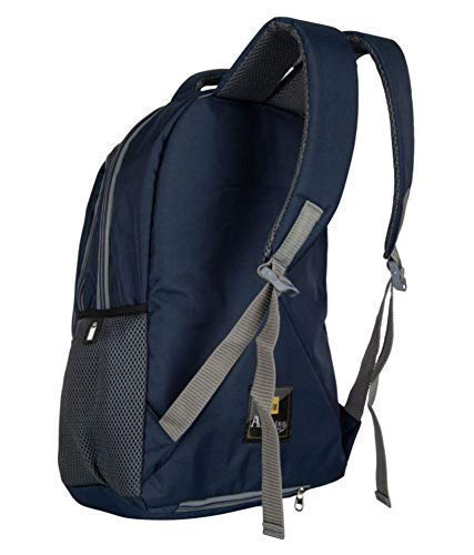 AB Amazing Bag 34 Ltrs Casual Waterproof Laptop Bag for Men Women Boys Girls/Office School College Teens & Students with Free RAIN Cover (18 Inch) (Navy) Image 3