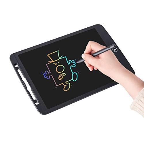 Upgrow LCD Writing Tablet, 12 Zoll LCD-Schreibtafeln, Grafiktabletts Schreibplatte Digital Schreibtafel Papierlos Schreiben Tabletten für Kinder Schule Graffiti Malen Notizen, mit Schutztasche (Bunt)