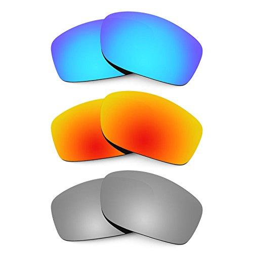 Revant Ersatzlinsen für Costa Zane Polarisiert 3 Paar Kombipack K014