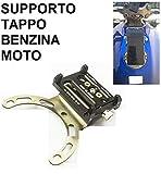 Uldan Universal Halterung für Benzin Motorrad, Tankdeckel für Smartphone NAVIGATORE