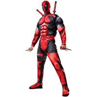 Rubie's Official Marvel Deadpool Deluxe Fancy Dress Costume