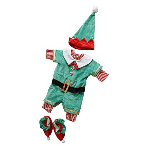 Elf Kostüm Baby - Baoblaze verkleiden sich Kostüm Outfit - Sankt Elf, 10-12Monate