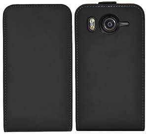 Suncase Flipstyle Echtledertasche für HTC Desire HD