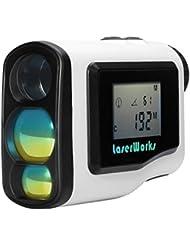 BW 600m Laser de Golf range finder–6x Zoom, écran LCD, Brouillard, mode Scan, imperméable