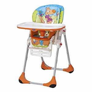 Chicco Polly Highchair - Wood Friends
