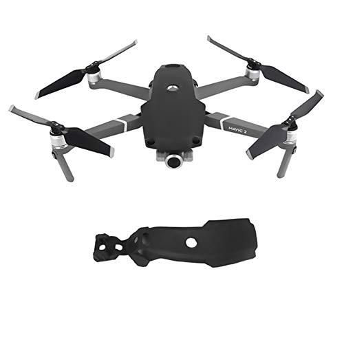 Goyajun Silikon Schützend Abdeckung SchutzEtuiAnti Schock Guard Rumpf Cover Case Zubehörteil für DJI Mavic 2 Pro/Mavic 2 Zoom Drone (Schwarz) -