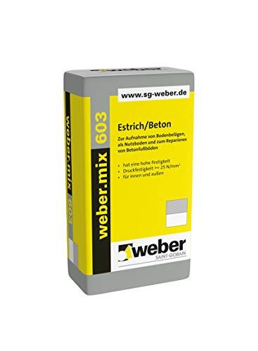 weber.mix 603 Estrich/Beton 40 kg