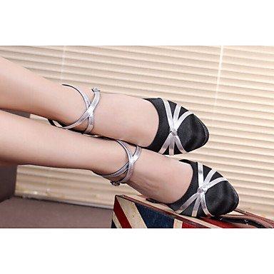 Ruhe @ Frauen Dance Schuhe Neue Sommer Latein Schuhe Damen mit Erwachsenen Weich unten Ballsaal Tanzen Schuhe und Sandalen Nude