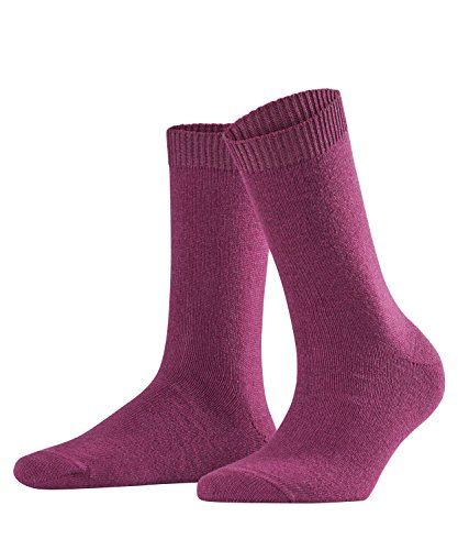 Falke Cosy Wool Chaussette Femme Rouge FR : S (Taille Fabricant : 35-38)
