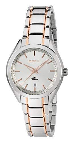 Breil orologio analogico quarzo donna con cinturino in acciaio inox tw1618