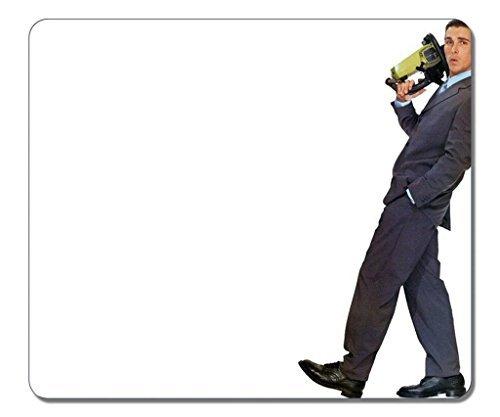 Maus Pads, (schwarz) 30,5x 25,4x 0,3cm. Rutschfest Gummi Mauspad [, robust Hitzebeständig Präzise Stoff] rechteckig Gaming Maus pad-dj A7American Psycho