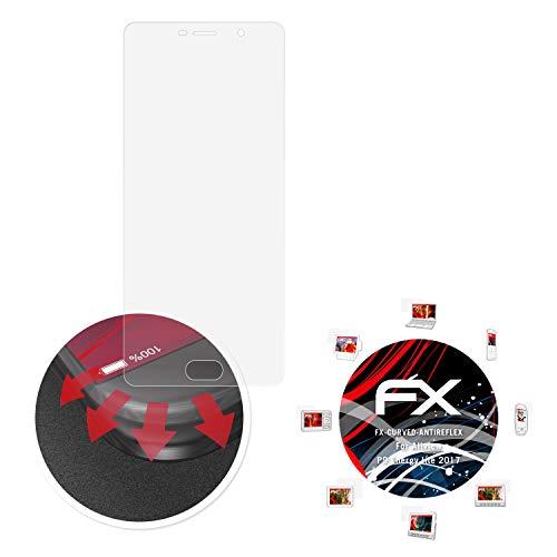 atFolix Schutzfolie passend für Allview P9 Energy lite 2017 Folie, entspiegelnde & Flexible FX Bildschirmschutzfolie (3X)