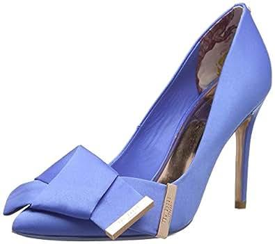 Ted Baker INES, Escarpins Bout fermé Femme, Bleu (Blue Ble), 36 EU