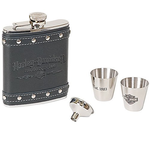 Harley-Davidson� Roadhouse Collection� Geschenk Set Flachmann HDL 18505 - Store Harley