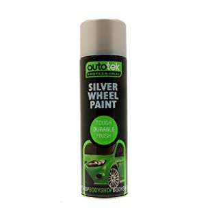 Autotek AT00SLW500 500ml Wheel Paint - Silver